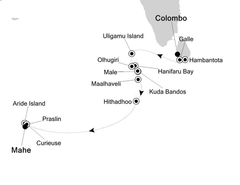 9822 - Colombo a Mahe