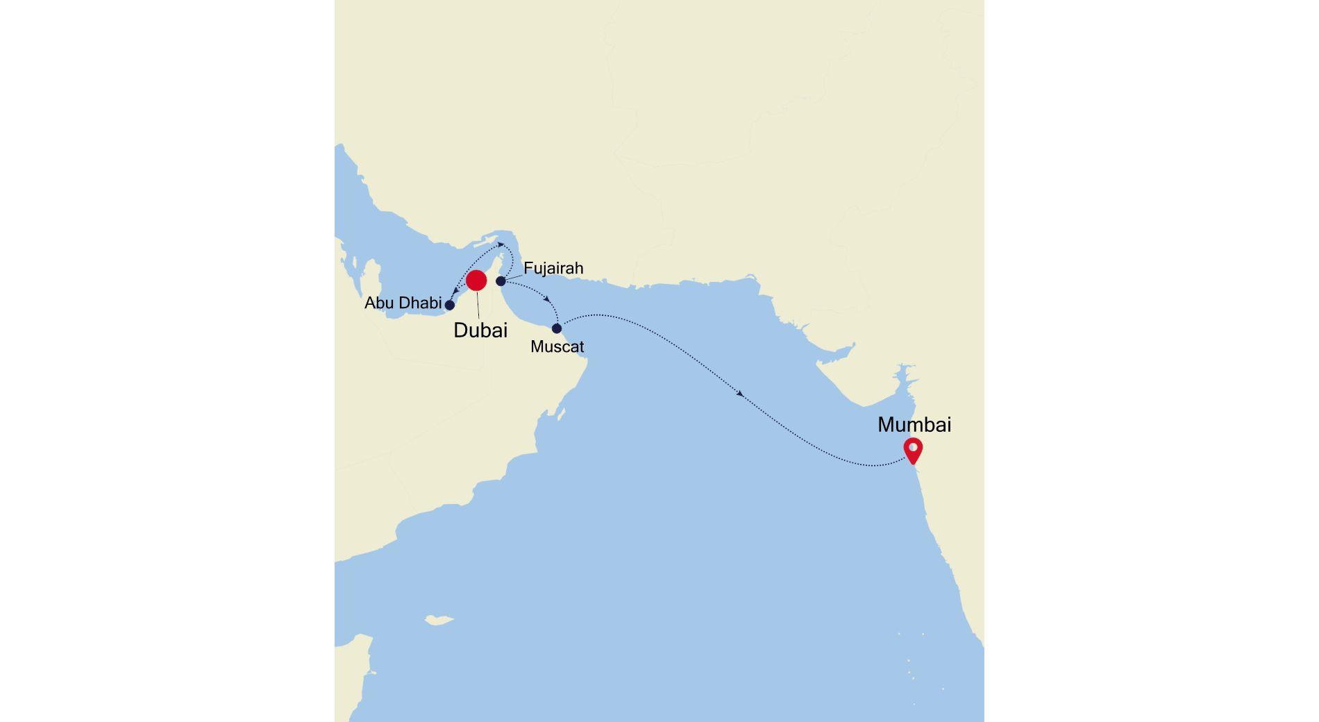 5933 - Dubai a Mumbai