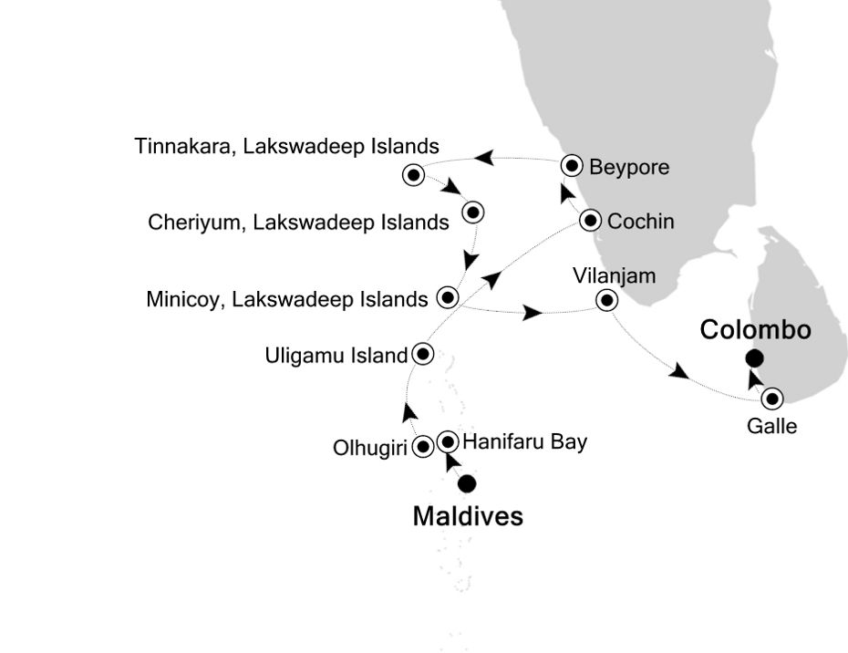 9802 - Maldives to Colombo