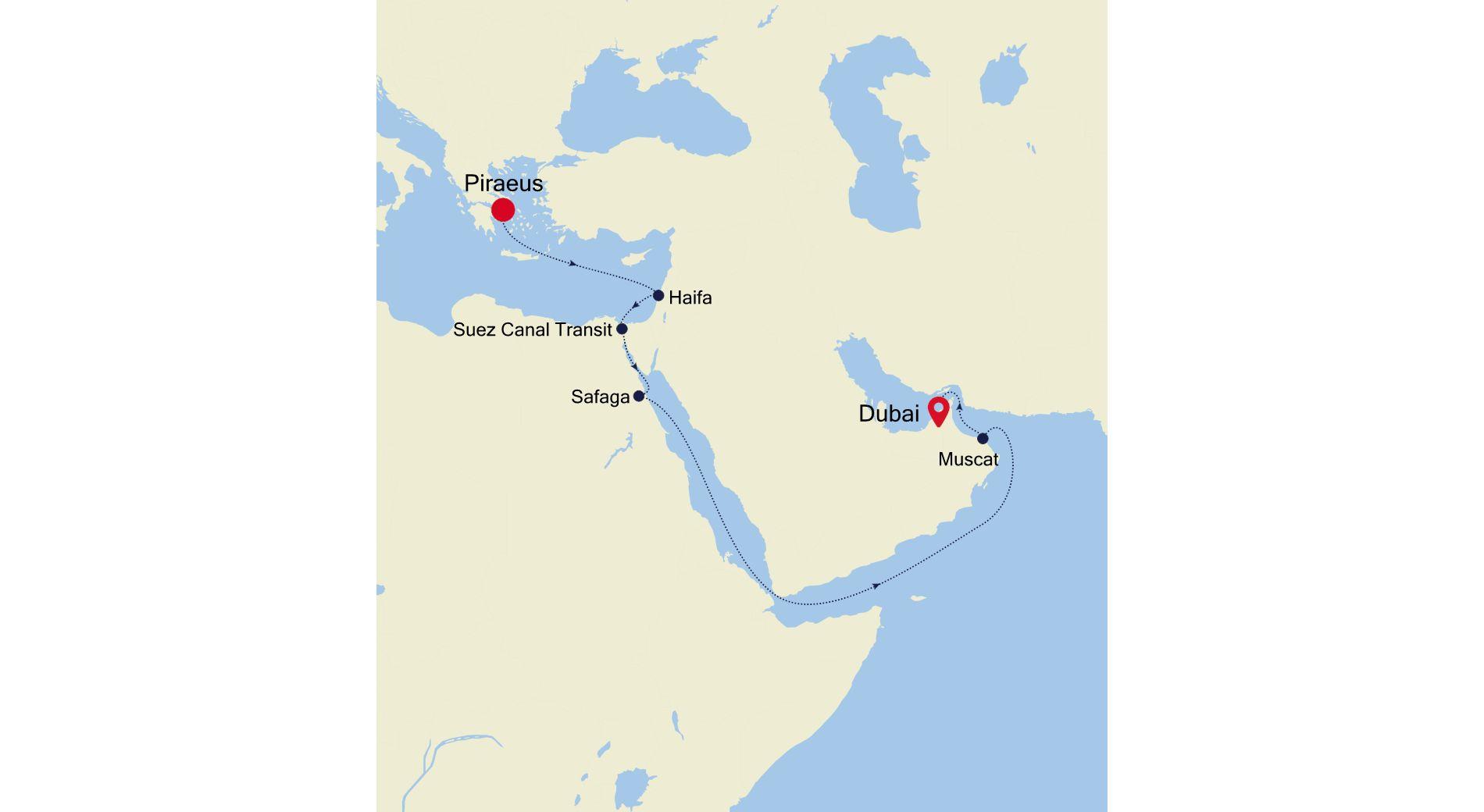 MO211101016 - Athens to Dubai