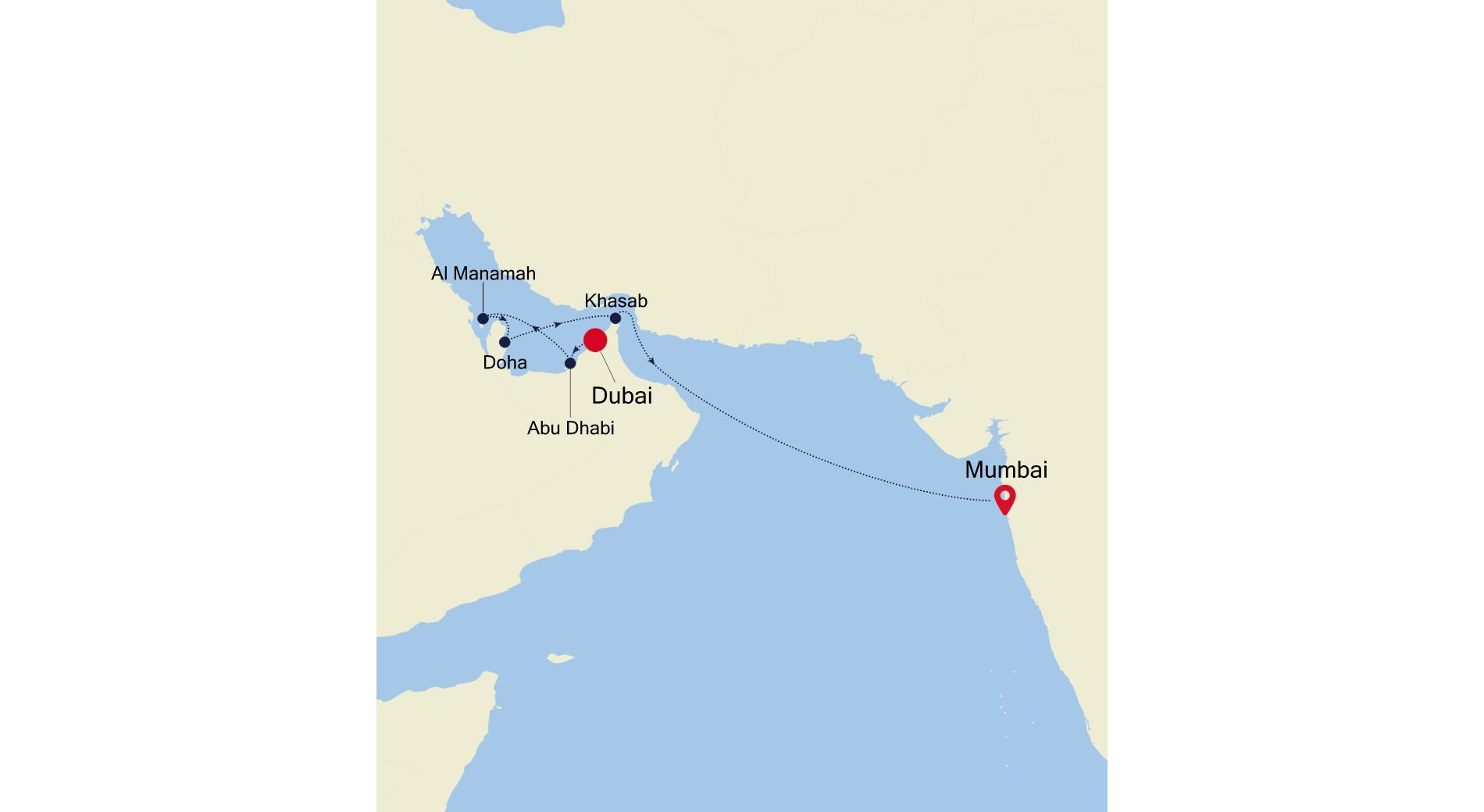 MO211117009 - Dubai à Mumbai