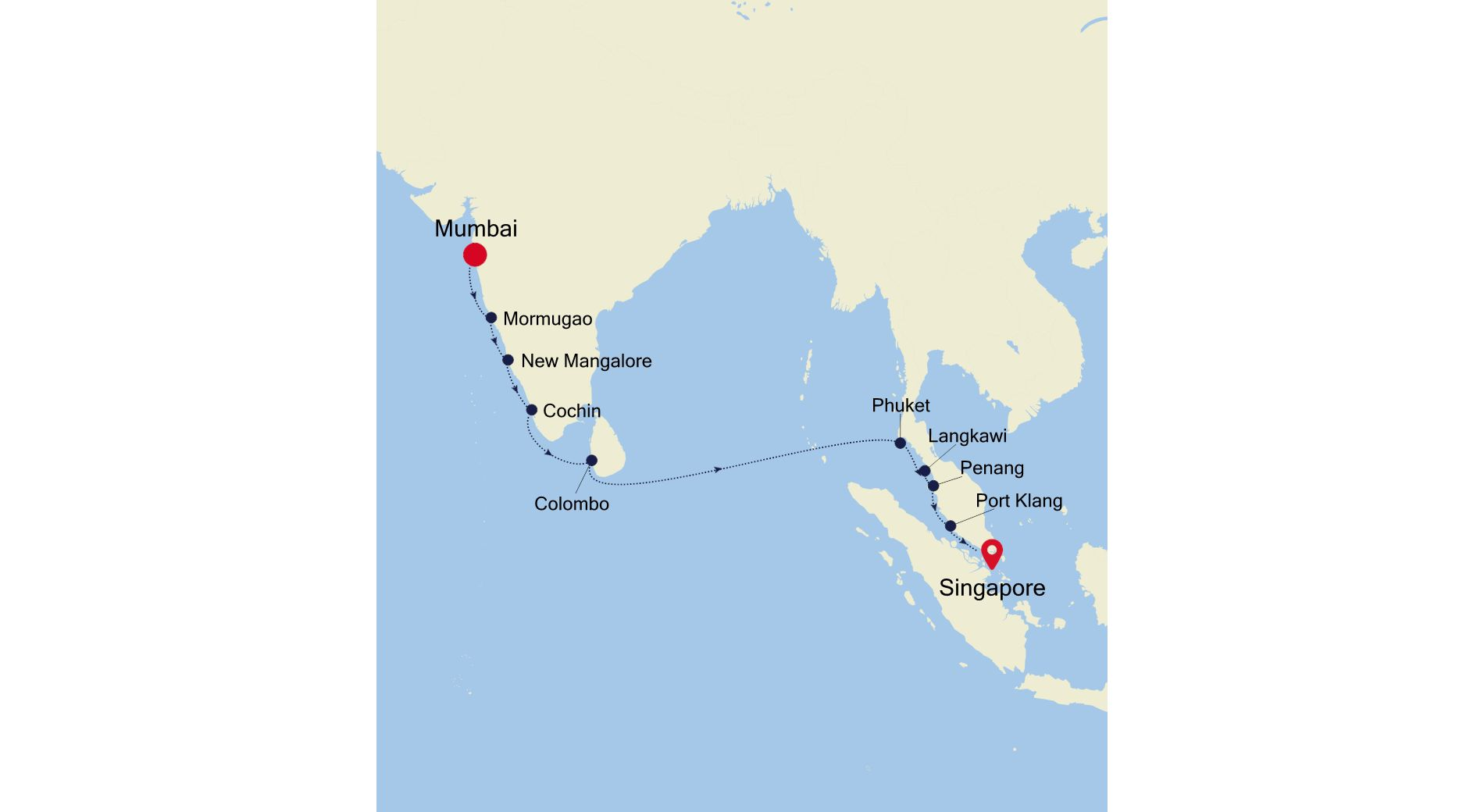 MO211126014 - Mumbai a Singapore