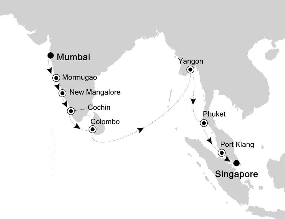 5934 - Mumbai a Singapore