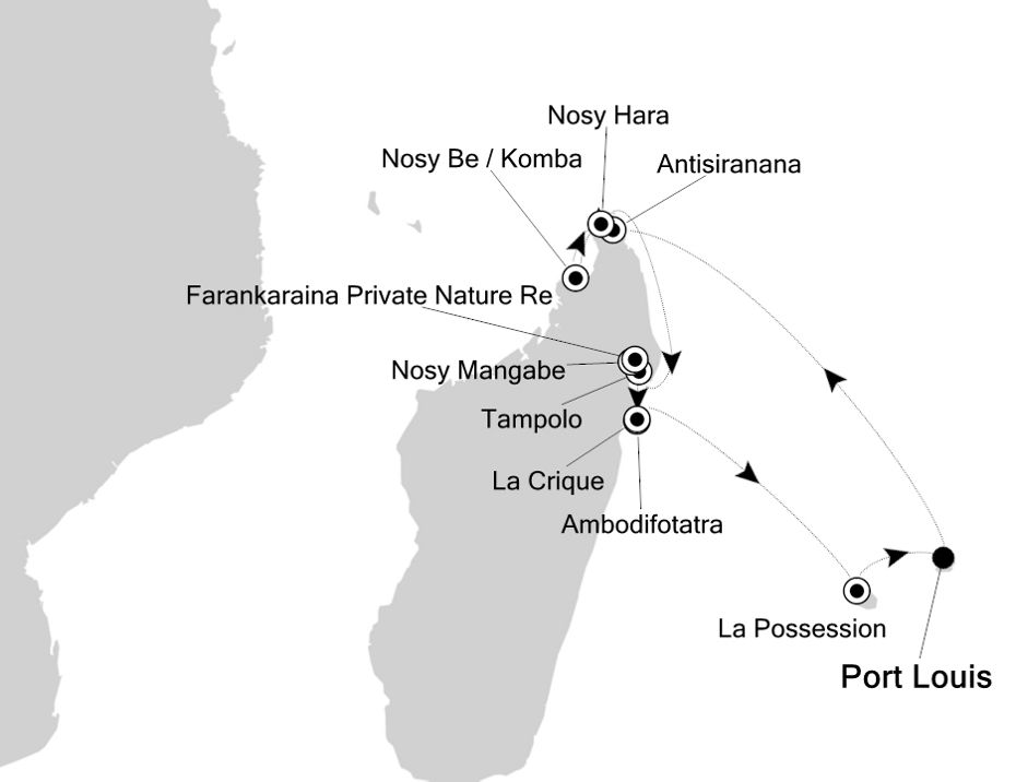 9825 - Port Louis to Port Louis