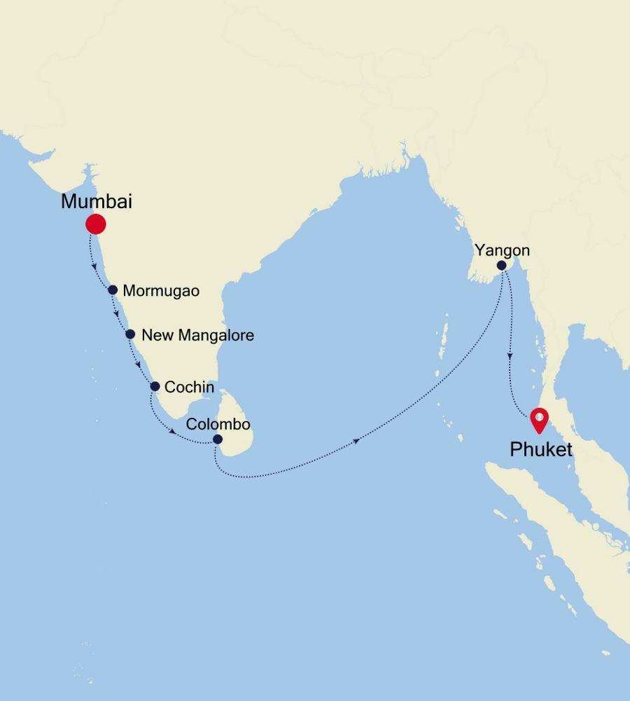 5934A - Mumbai à Phuket