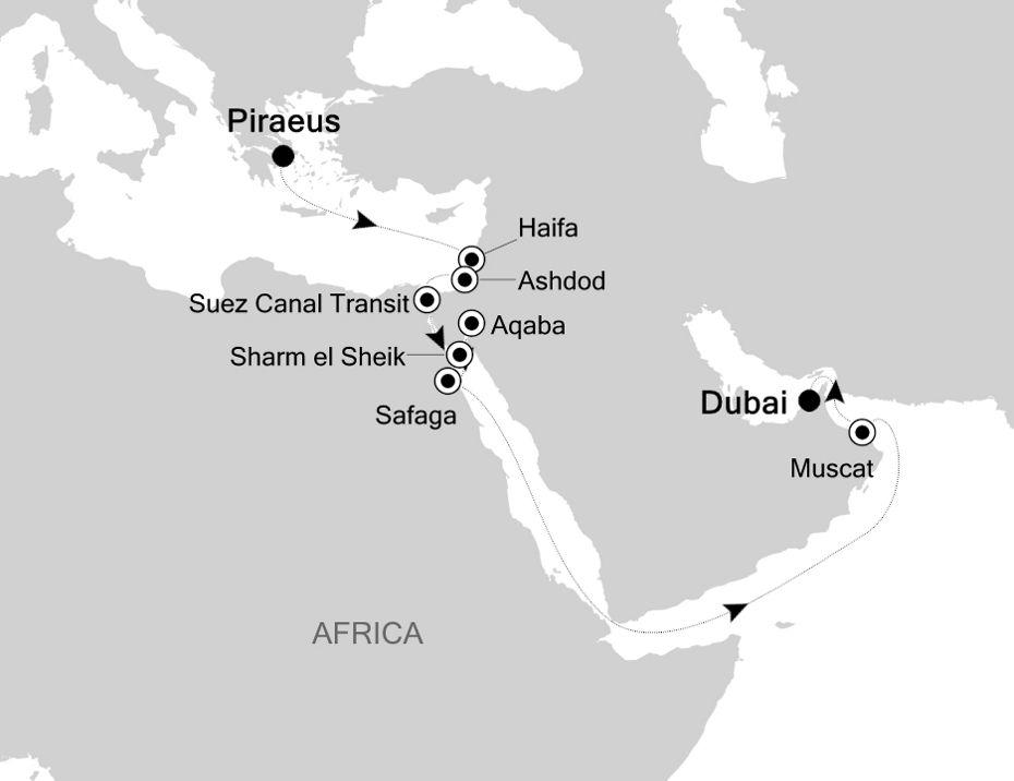 SL201105017 - Piraeus nach Dubai