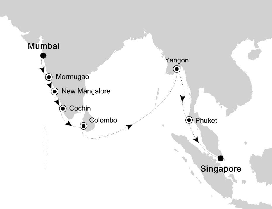 SL201201018 - Mumbai a Singapore