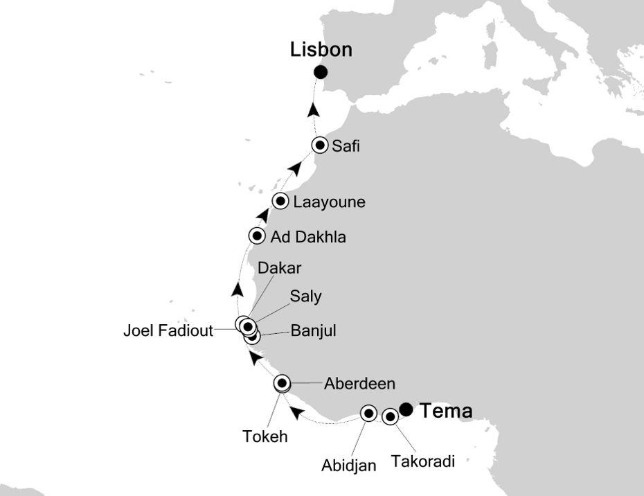 1909 - Tema to Lisbon