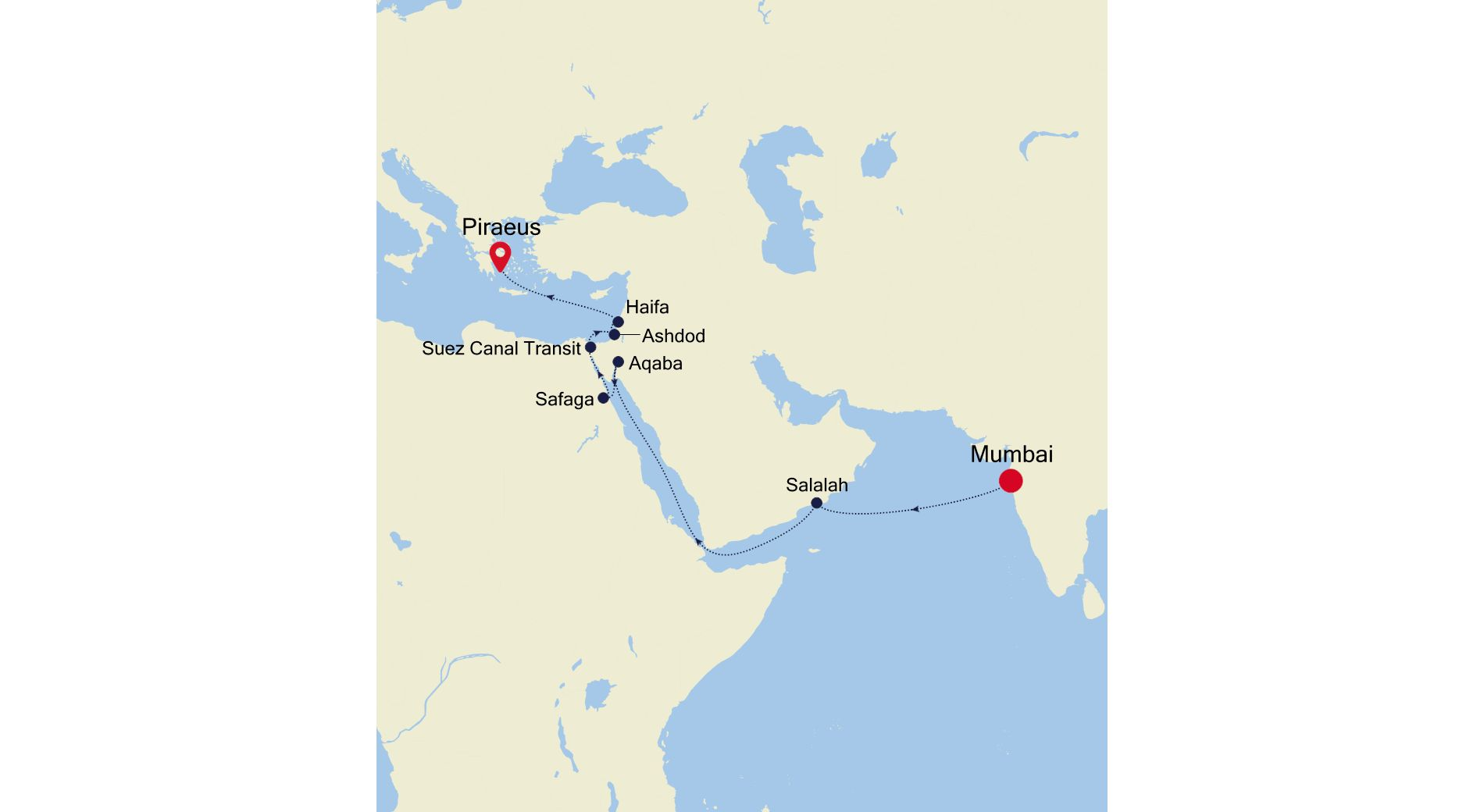 WH210423017 - Mumbai nach Piraeus