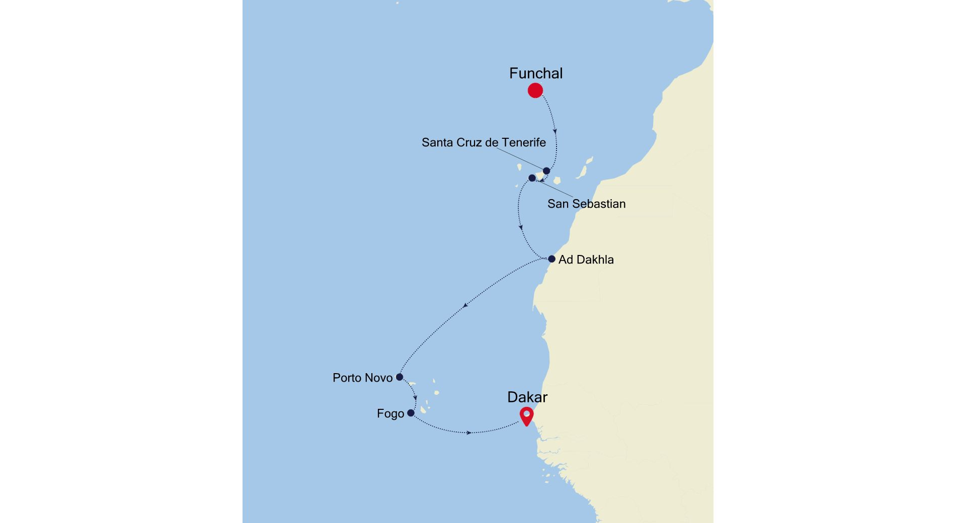 WI211020S09 - Funchal à Dakar