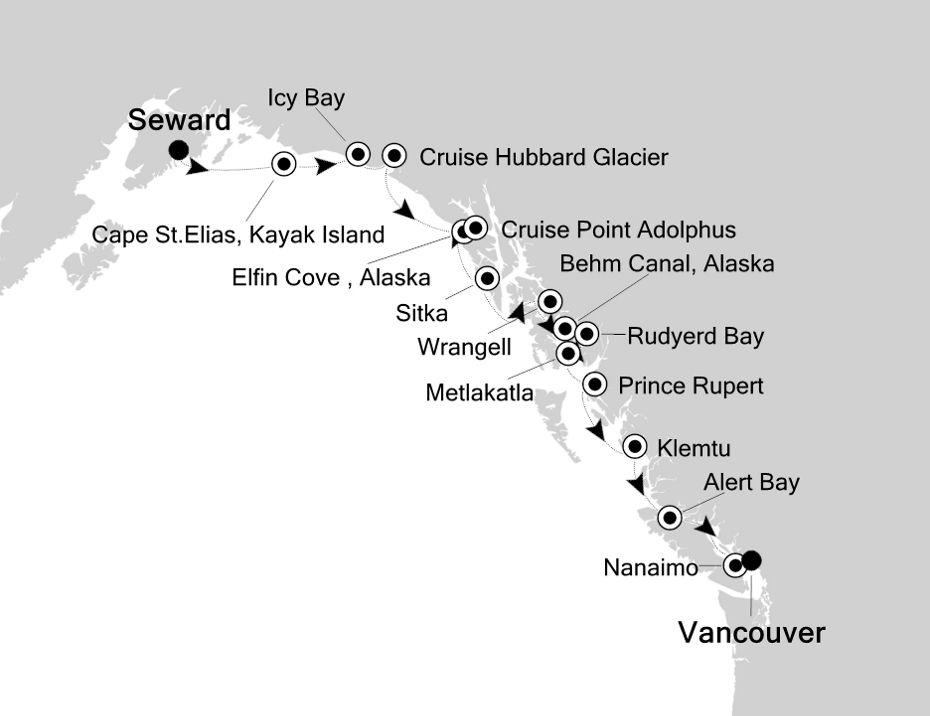 E4200926012 - Seward à Vancouver