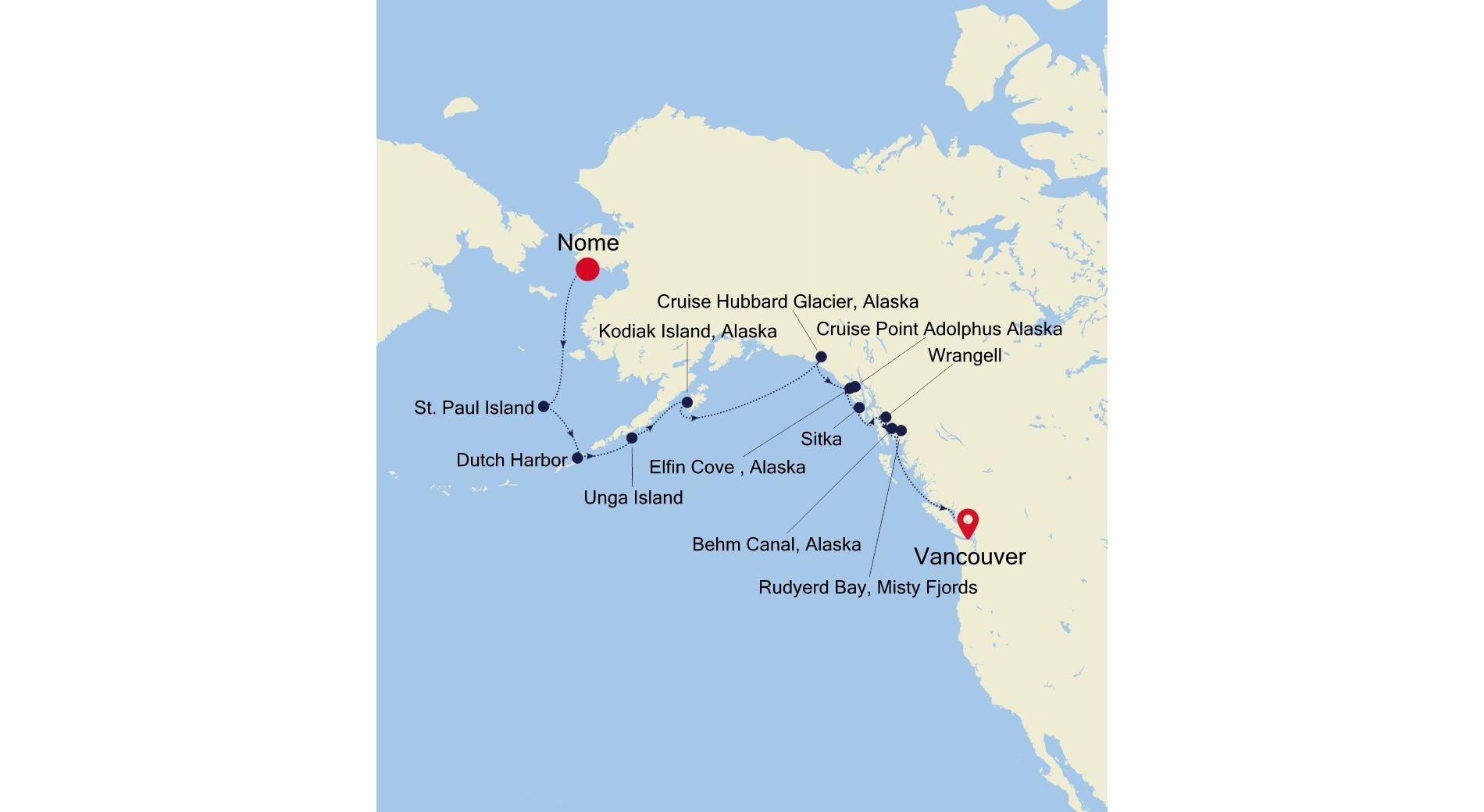E4210917014 - Nome to Vancouver