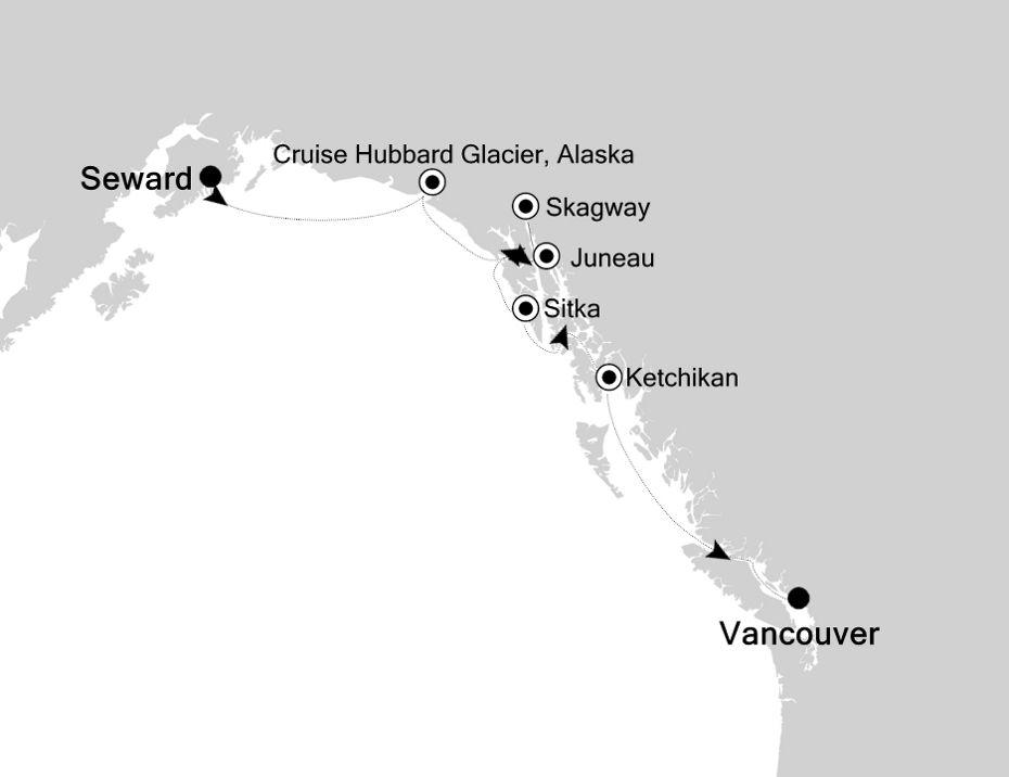 SM200618007 - Seward nach Vancouver