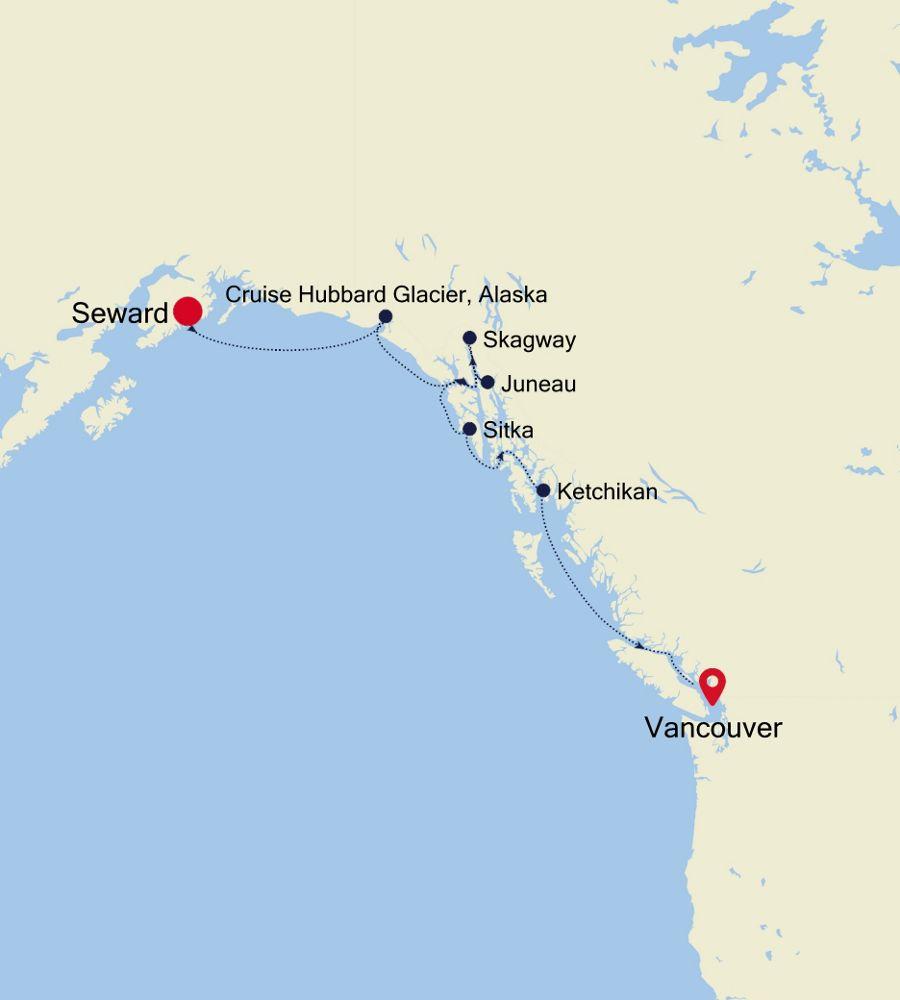 SM200716007 - Seward nach Vancouver