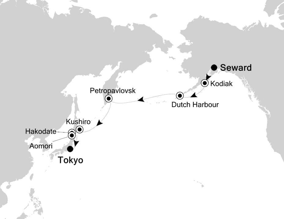 3829 - Seward nach Tokyo