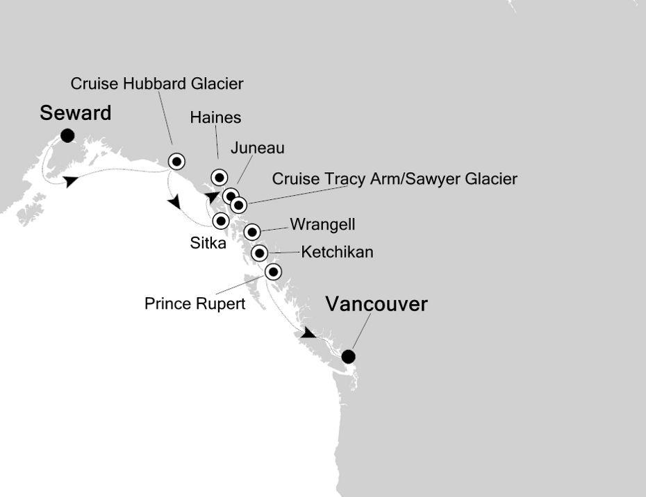 6911 - Seward nach Vancouver