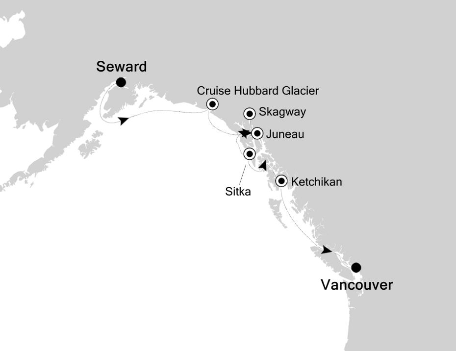6919 - Seward nach Vancouver