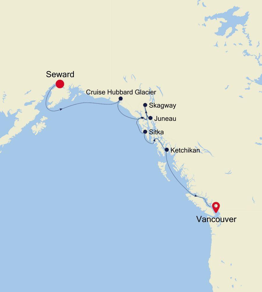 6921 - Seward nach Vancouver