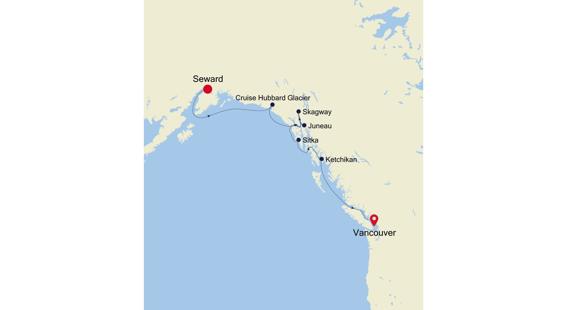 6923 - Seward nach Vancouver