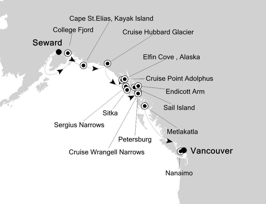7913 - Seward a Vancouver
