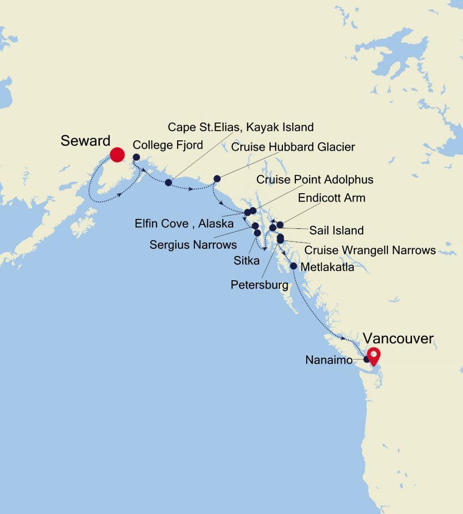 7913 - Seward to Vancouver