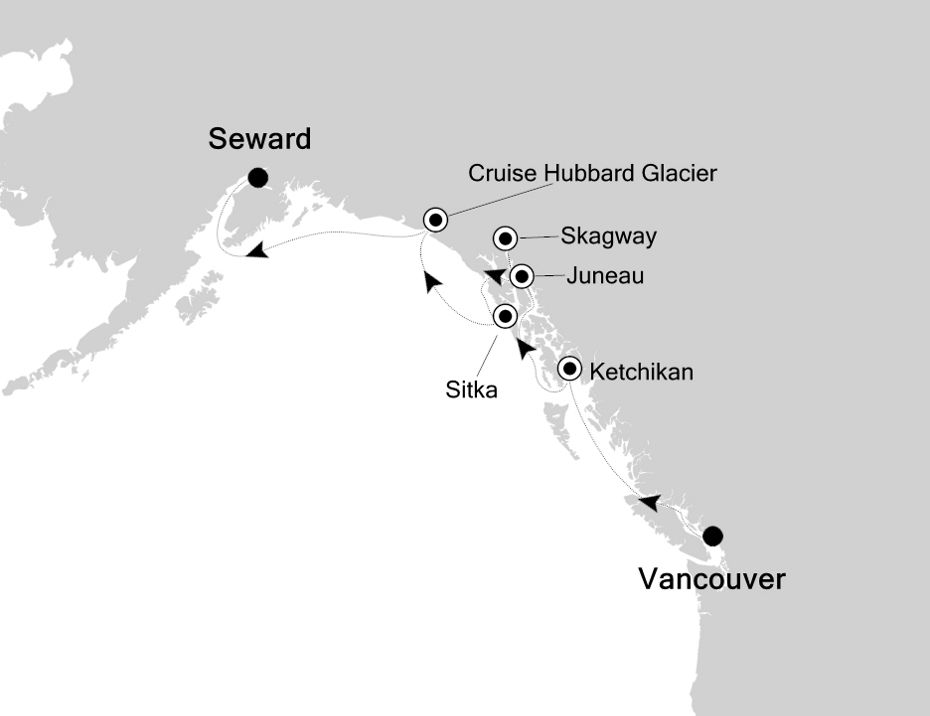 3814 - Vancouver nach Seward
