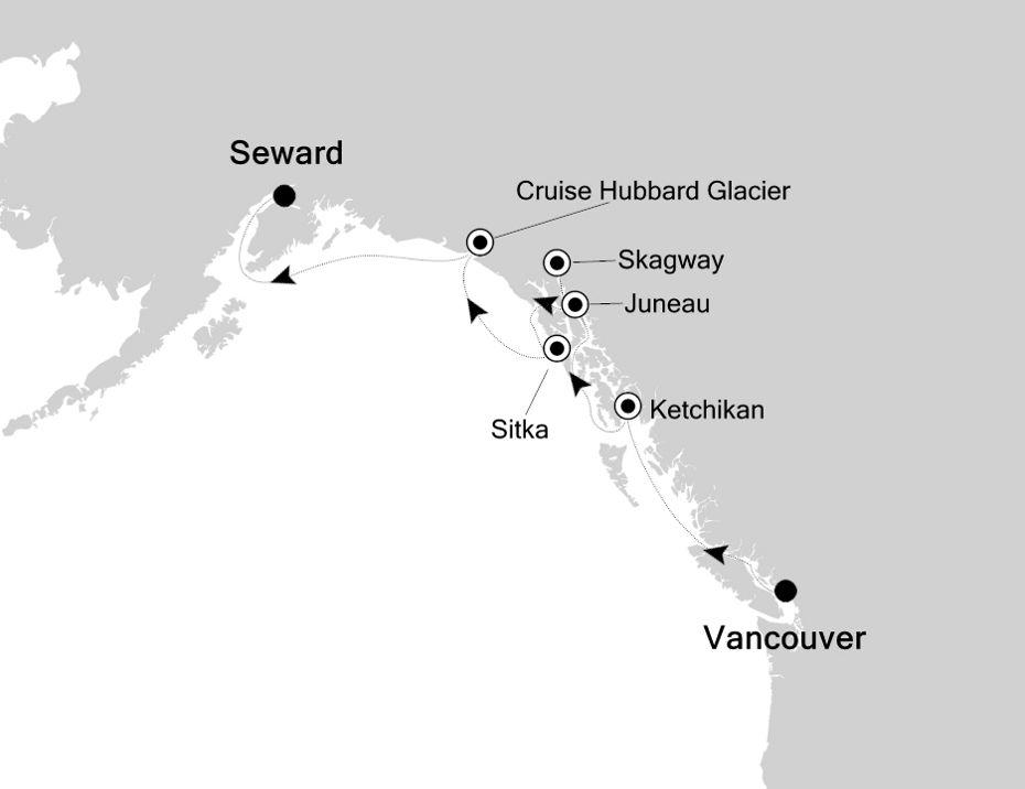 3820 - Vancouver a Seward