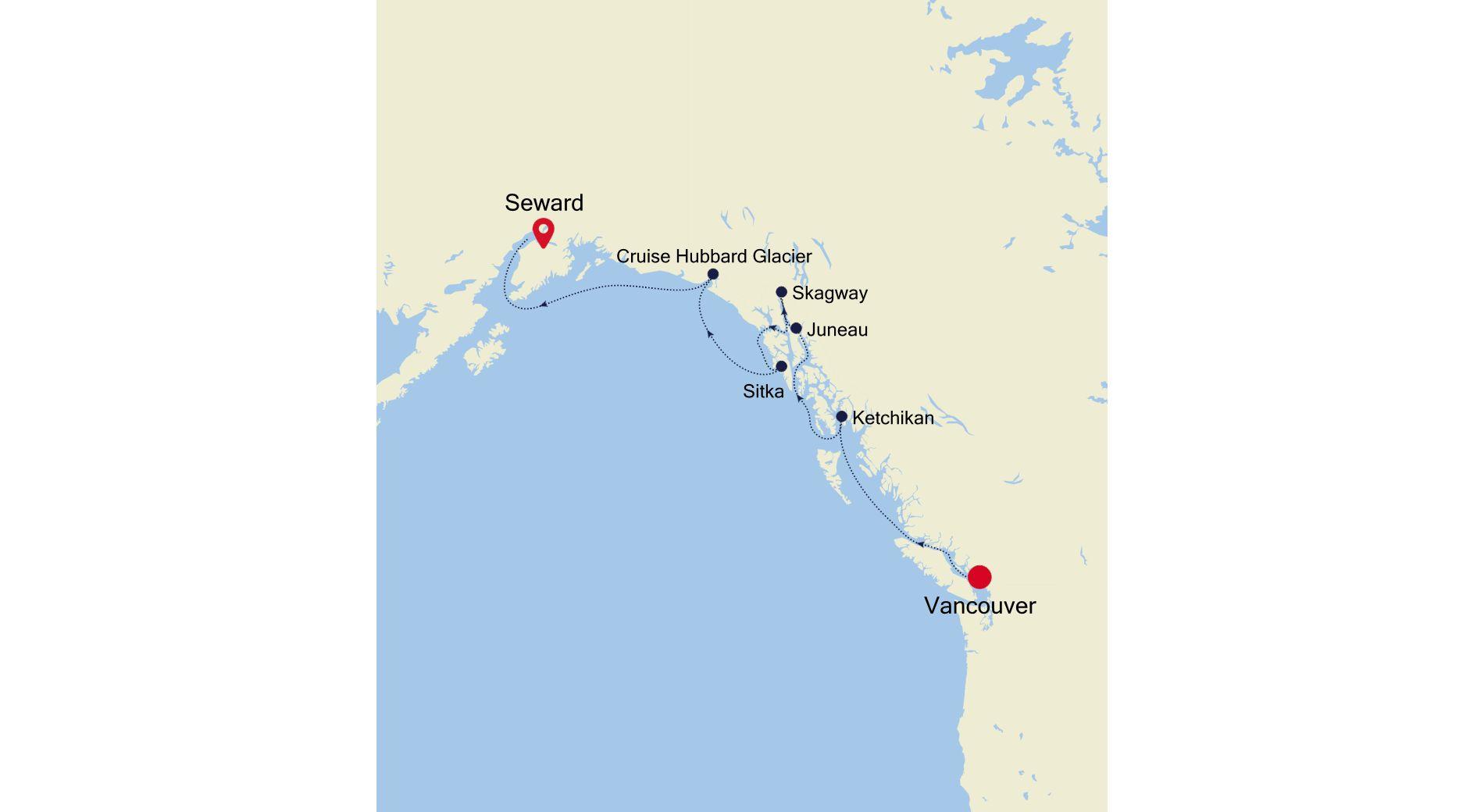 6914 - Vancouver a Seward