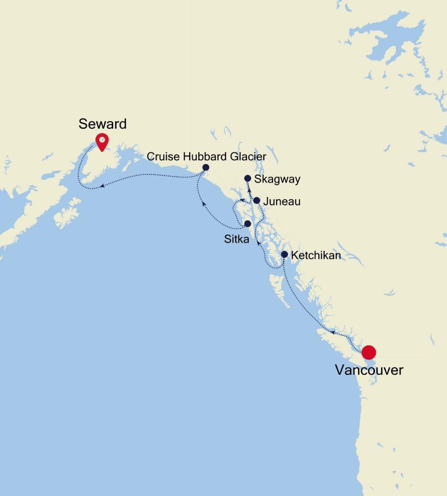 6914 - Vancouver à Seward