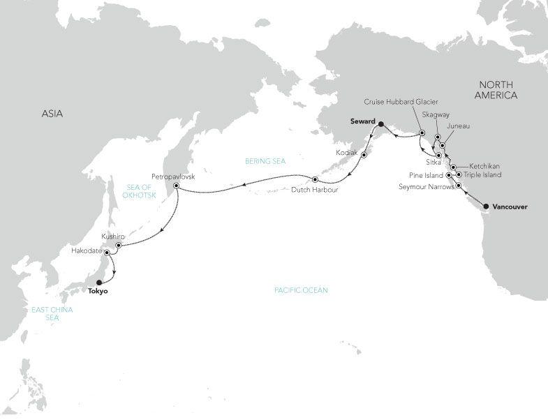 C6924 - Alaska à Japan