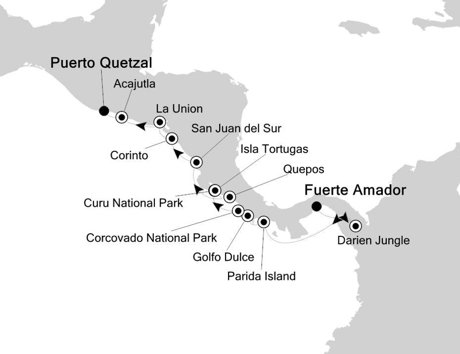 7807 - Fuerte Amador a Puerto Quetzal