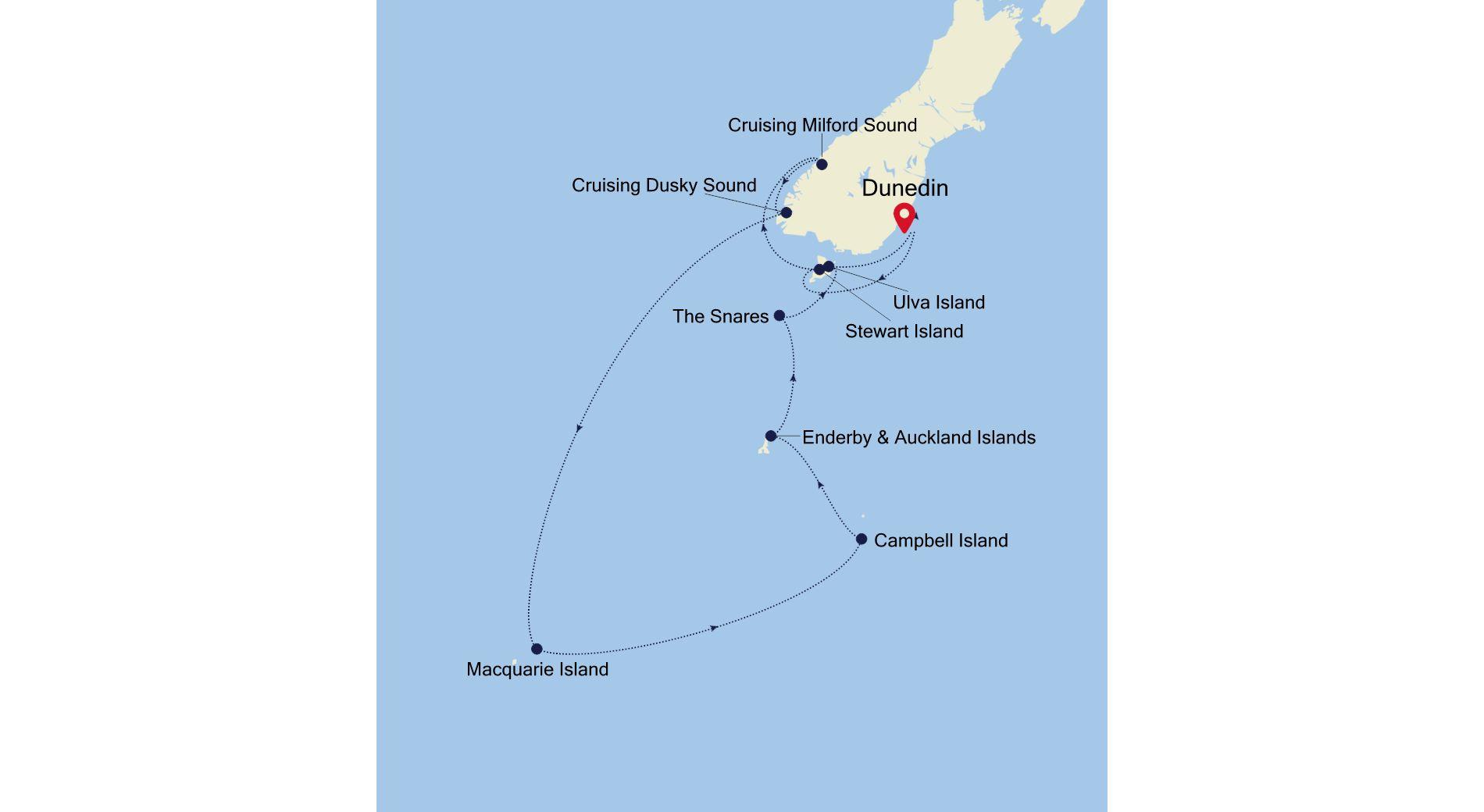 E1201221014 - Dunedin nach Dunedin