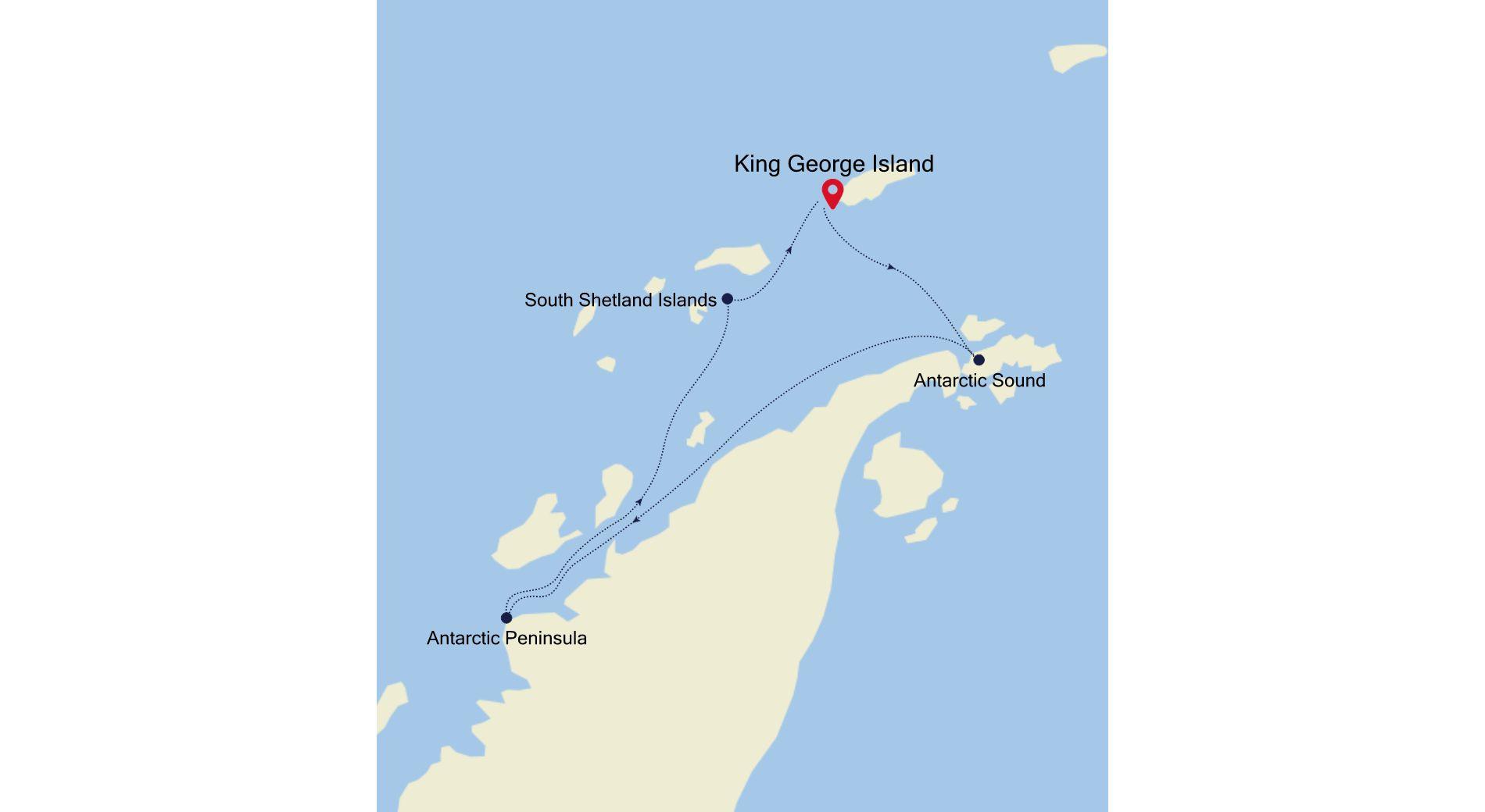 E1211211006 - King George Island to King George Island