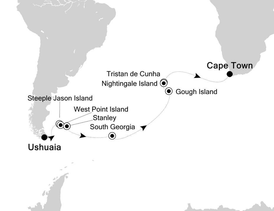 1806 - Ushuaia to Cape Town