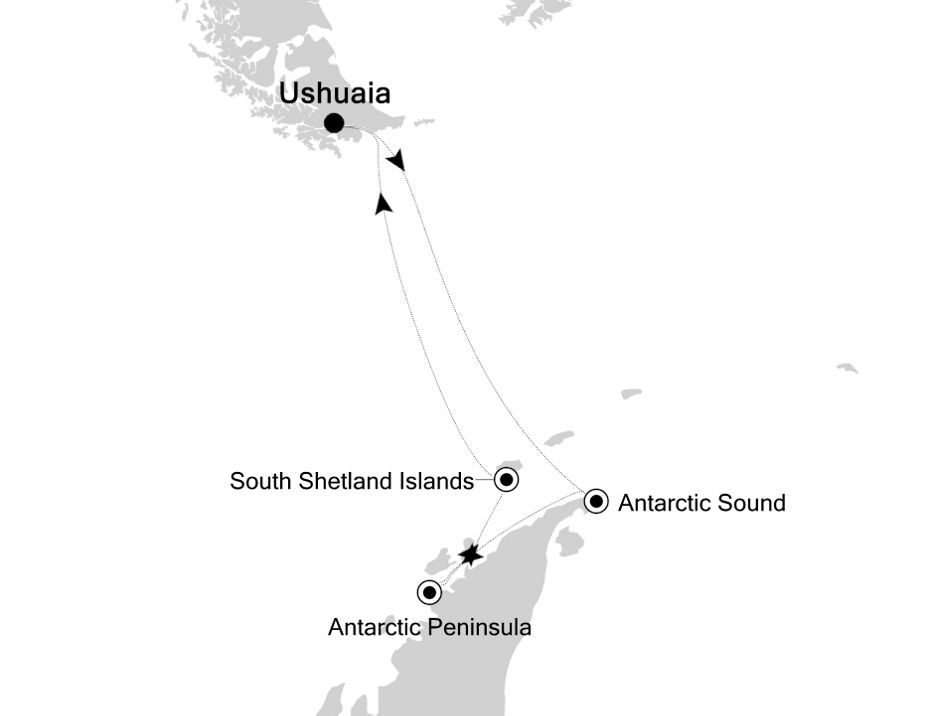 1004 - Ushuaia nach Ushuaia