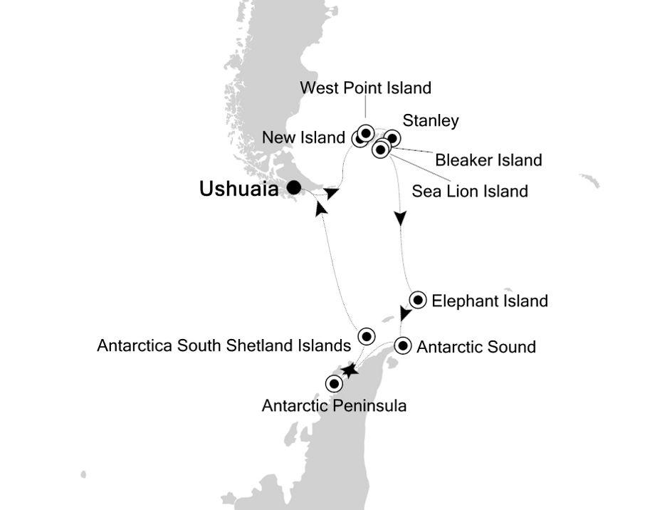 1829 - Ushuaia a Ushuaia