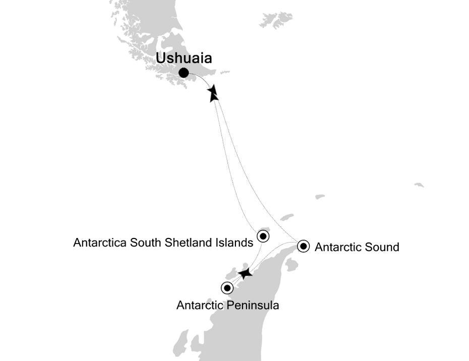 1901 - Ushuaia a Ushuaia