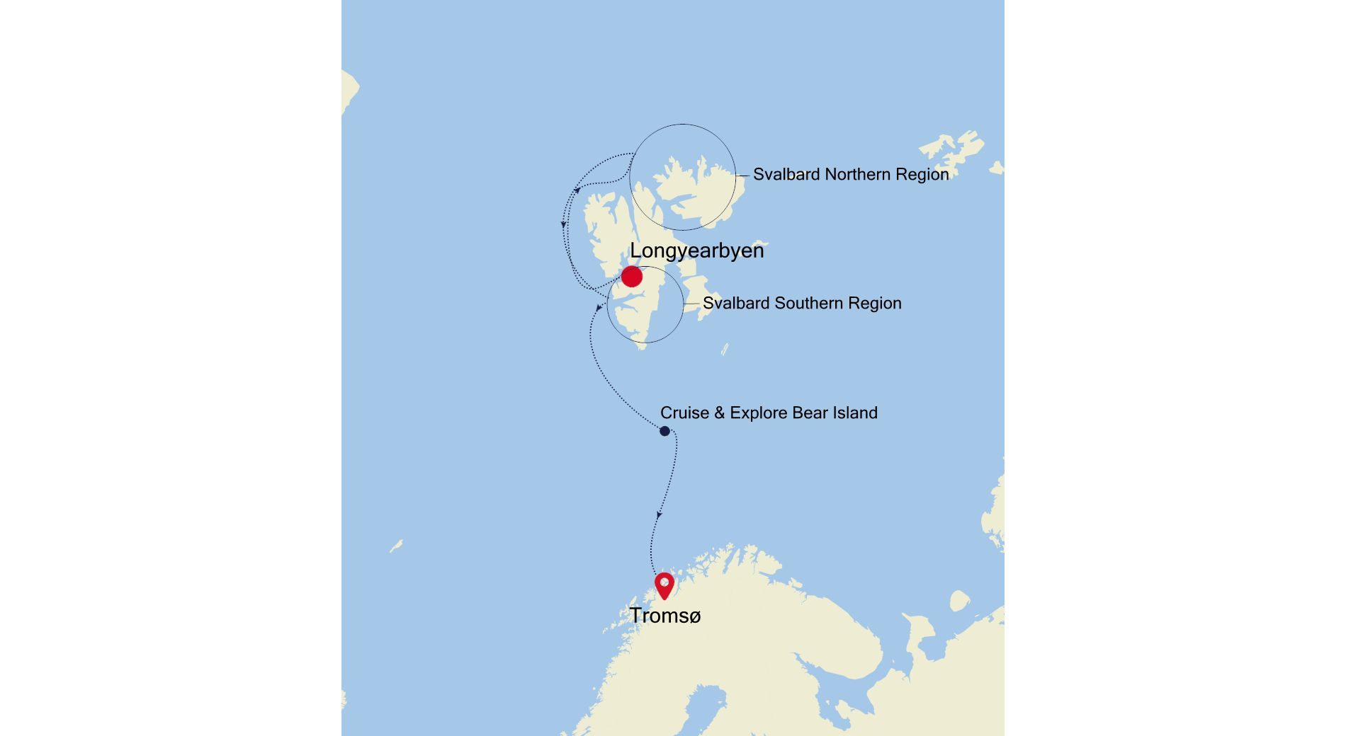 E4200621009 - Longyearbyen nach Tromsø