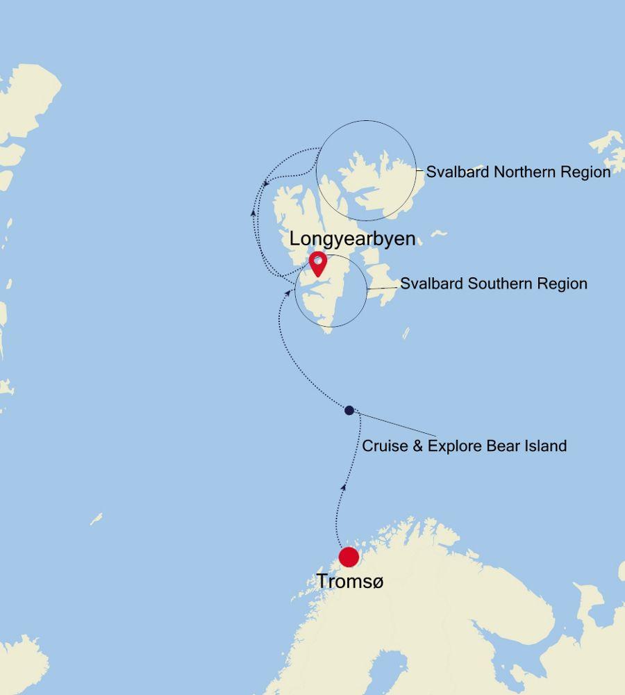 E4200630009 - Tromsø à Longyearbyen