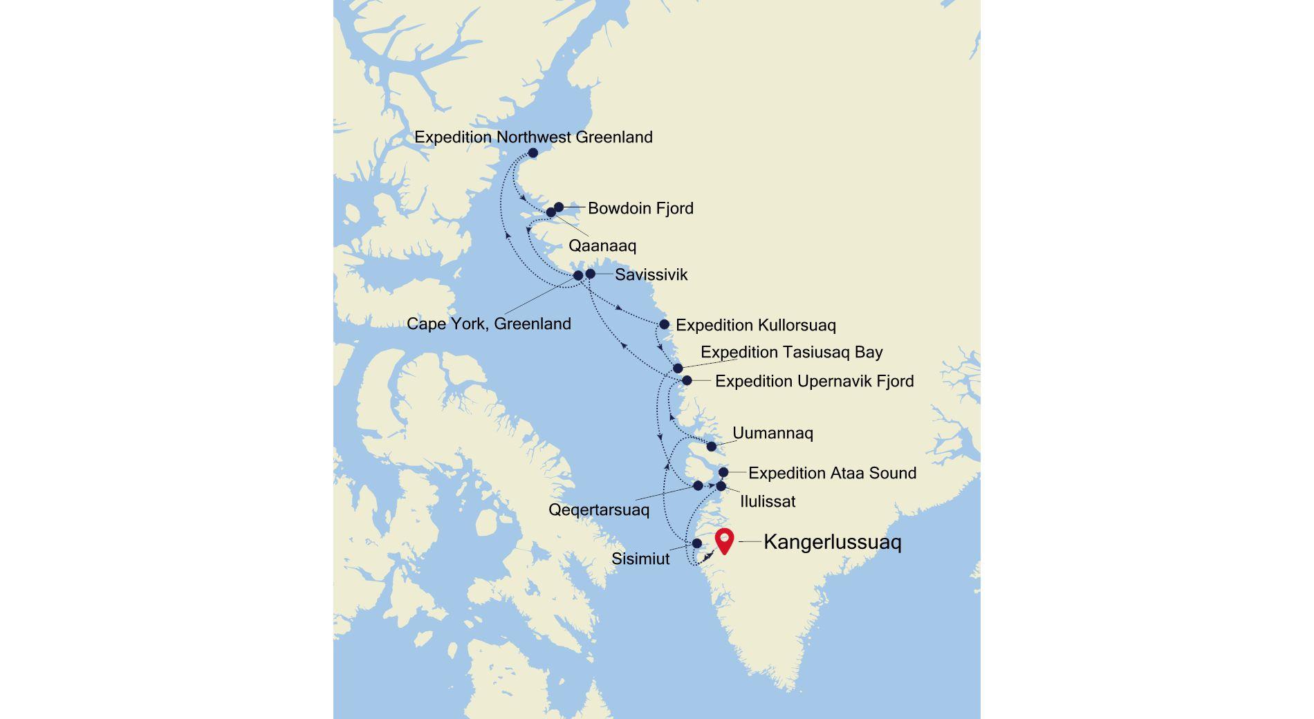 E4200805016 - Churchill to Kangerlussuaq