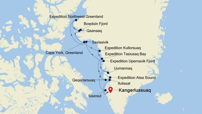 Churchill Alaska Map.Luxury Cruise From Churchill Manitoba To Kangerlussuaq 05