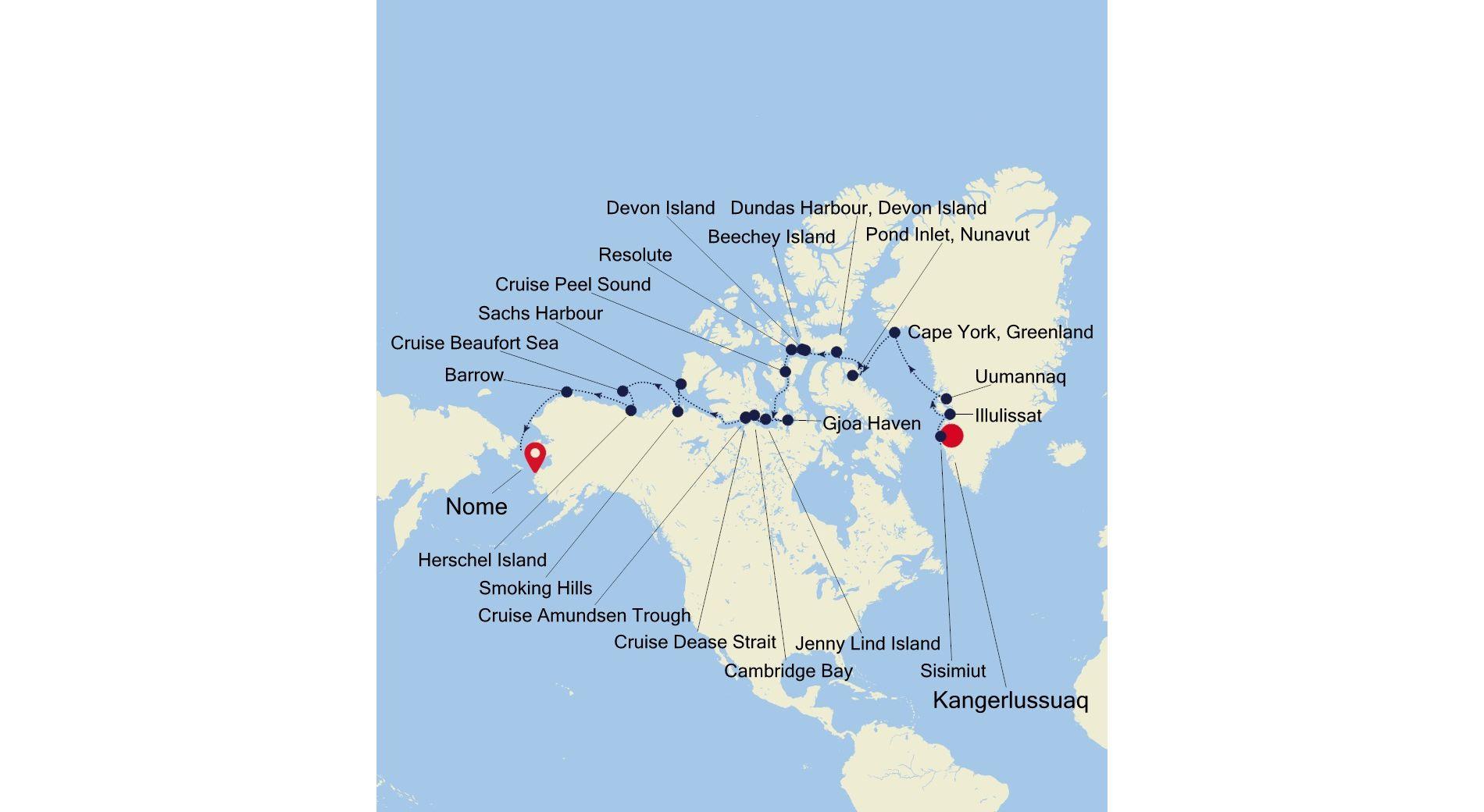 E4200821024 - Kangerlussuaq a Nome