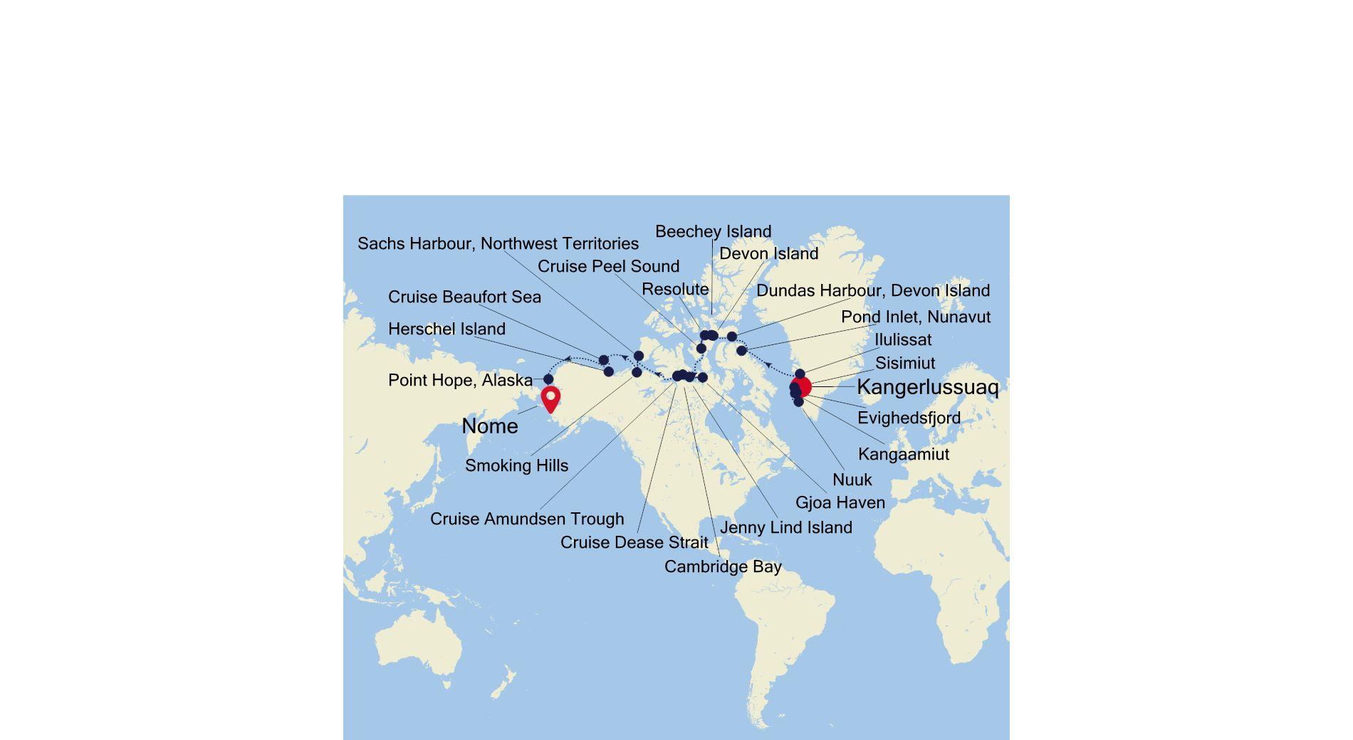 E4210824024 - Kangerlussuaq a Nome