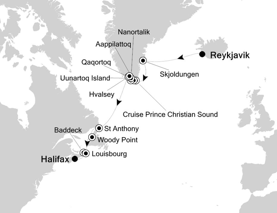 E1201001013 - Reykjavik nach Halifax