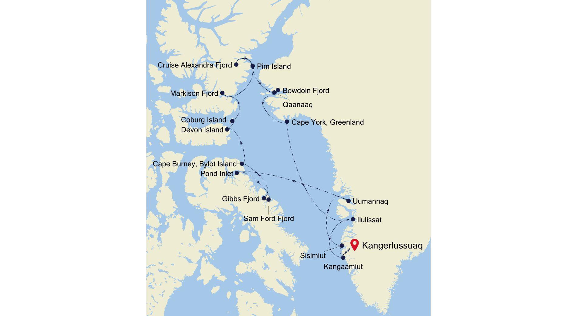 1920 - Kangerlussuaq à Kangerlussuaq