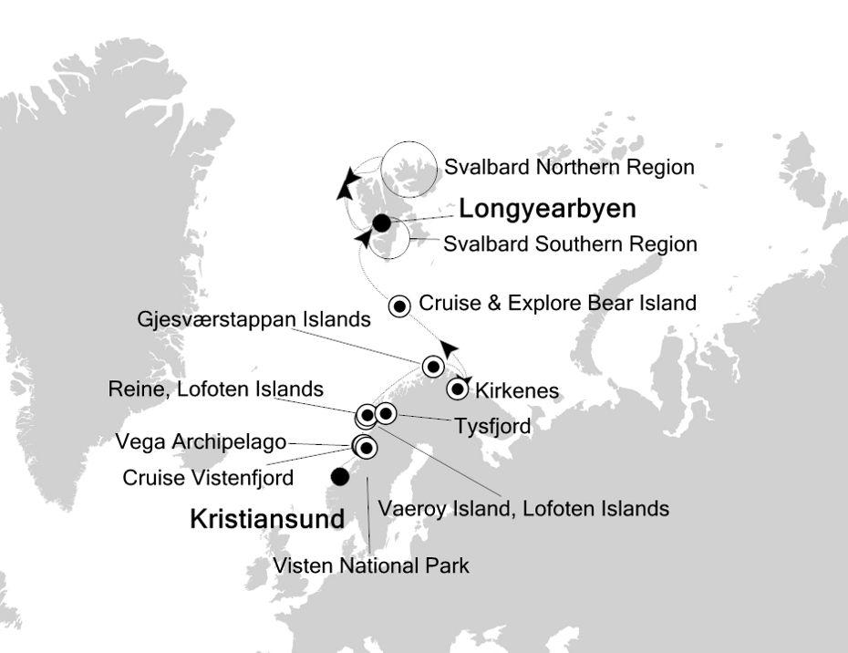 1815 - Kristiansund nach Longyearbyen