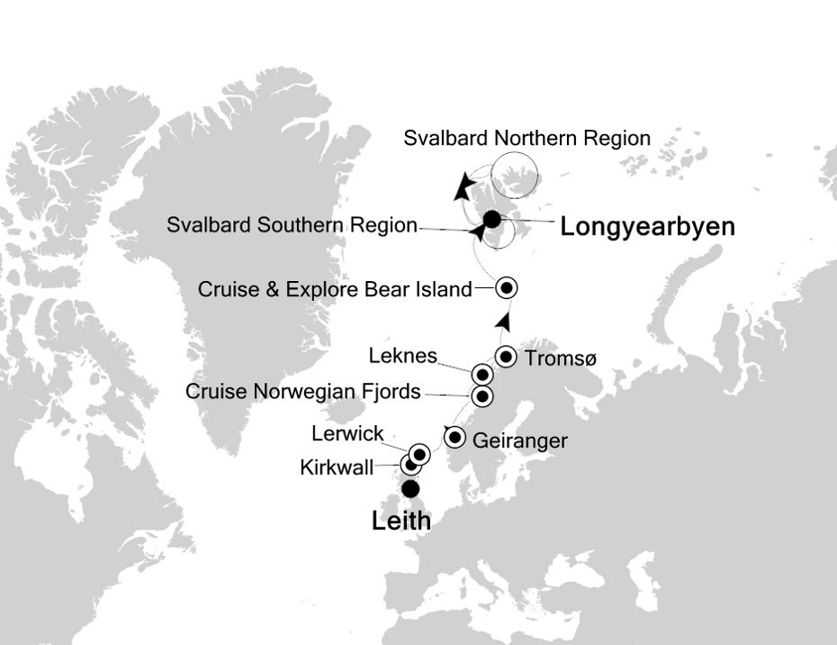 1813 - Leith a Longyearbyen