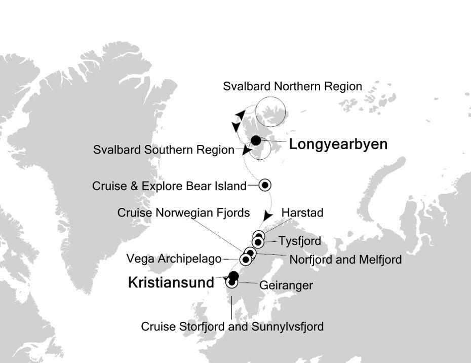 1814 - Longyearbyen nach Kristiansund