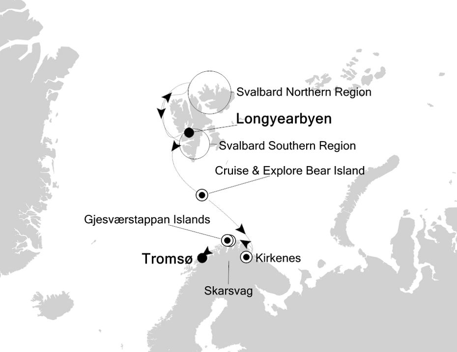 1816 - Longyearbyen à Tromsø