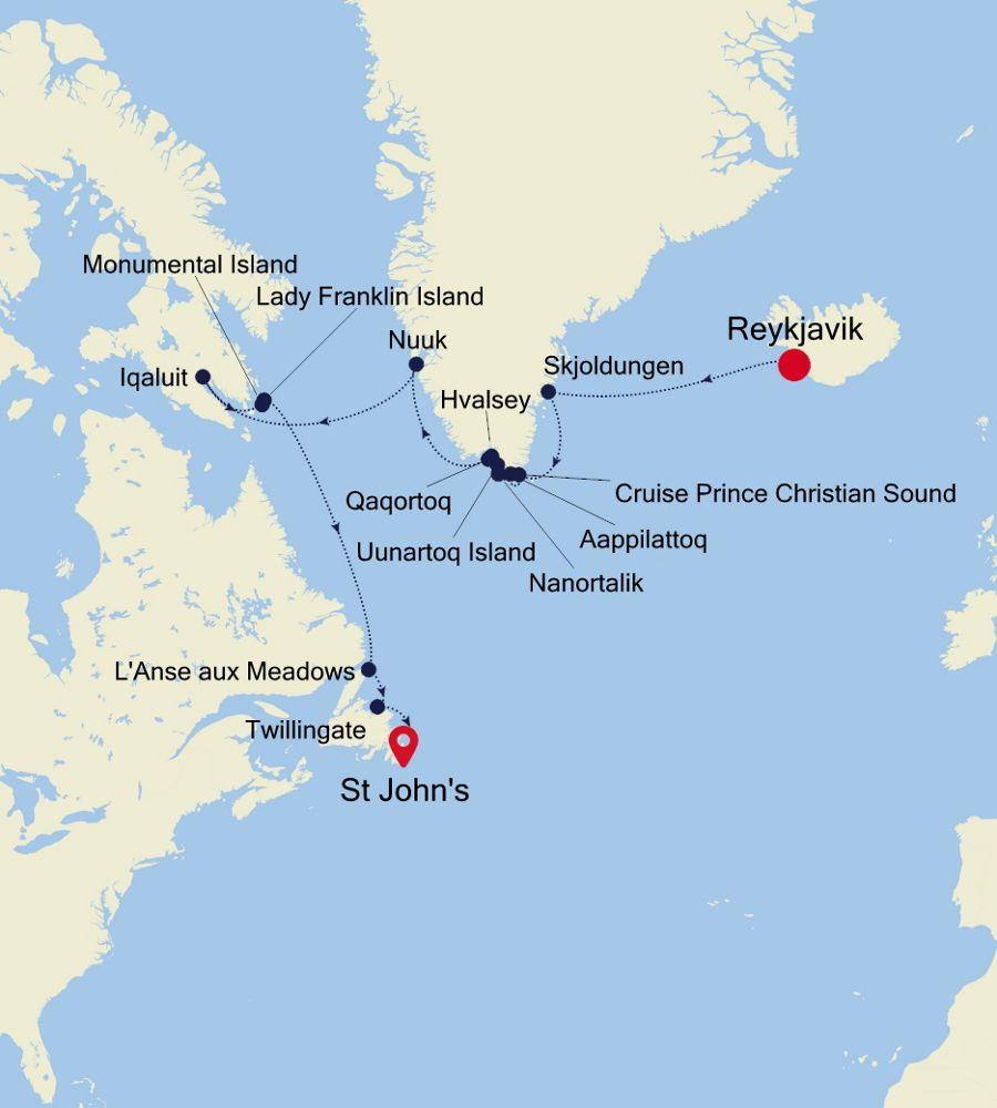 7918 - Reykjavik à St John's